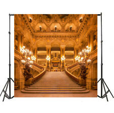 6x6ft Backdrop Luxury Palace Stair European Background Photography Props Scene