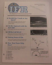 IFR Pilot Magazine Straight-Ins Unsafe At Any Speed? November 1995 FAL 061815R