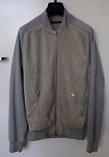 Louis Vuitton Suede Leather & Cotton / Silk Jacket