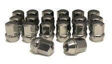 20 14x1.5 Chrome Lug Nuts Chevy Camaro Dodge Charger Challenger for Stock Wheels