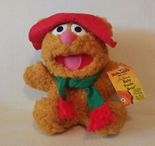 New Vintage Antique Baby Fozzy Bear Henson Muppets 1988 80s McDonald's Stuff Toy