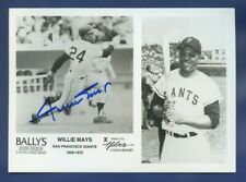 "Willie Mays JSA Authenticated Autographed 5x7"" Hilton Casino Photograph !!!!"