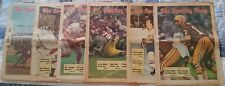 Six Full Issues Of The Sporting News From 1971 Wolverines, Sooners, Billy Kilmer