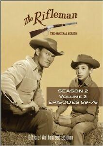 The Rifleman: Season 2 Volume 2 (Episdoes 59 - 76) [New DVD] Boxed Set