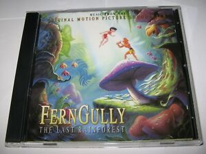 FERNGULLY : THE LAST RAINFOREST (1992) RARE MCA CD MOTION PICTURE SOUNDTRACK