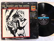 THE PRODOGY AND THE GENIUS: BARENBOIM BEETHOVEN TRIPLE LP MONO WM-1012 -  EX