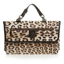 ROBERTO CAVALLI BABY LEOPARD PRINT TRAVEL CHANGING MAT BAG