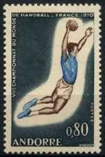 Andorra French 1970 SG#F221 World Handball Championships MNH #D71795
