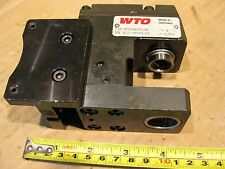 WTO 311500000-38 Live Angle Tool Holder Turret Turning CNC Right Milling Adapter