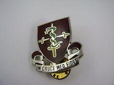 Military Insignia Emblem Pin: In Cruce Mea Fides 30th Medical Brigade