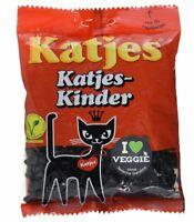4 x KATJES KINDER GUMMI CANDY SWEETS LICORICE VEGETARIAN CANDY FROM GERMANY !