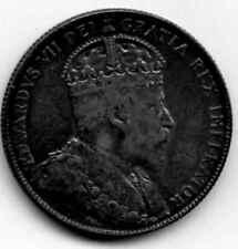 1904-H Fine Canada - Newfoundland Silver 50 Cents - KM# 11