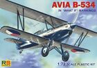 RS Models 1/72 Avia B-534 What If Markings # 9280