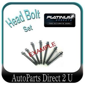 Ford Telstar AX AY 2.0L & Mazda 626 GE 2.0L Head Bolt Set
