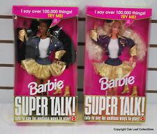 Super Talk Barbie 2 doll set AA 1994 NRFB Mint! Original owner collection!
