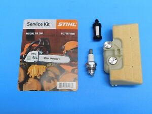 OEM STIHL AIR FILTER FUEL FILTER SPARK PLUG MS290 MS310 MS390 029 039 CHAINSAW