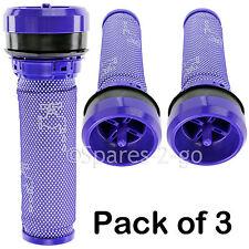3 x pré moteur stick filtre & joint pour dyson DC28 DC37 DC39 DC39i DC53 pour aspirateur