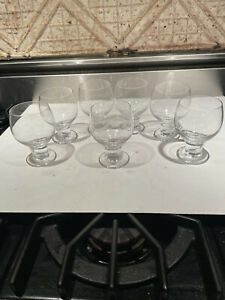 Beautiful Riedel Short Crystal Thick Stem Water Wine Glass One Only I Have 7