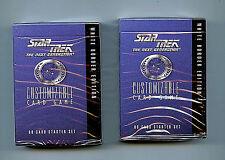 Star Trek Next Generation Decipher CCG 2X Sealed Starter Decks New from 1994/5