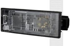 For Vauxhall Vivaro Combi 06.14-On - RHD LHD Rear Number Plate Light x1 Halogen
