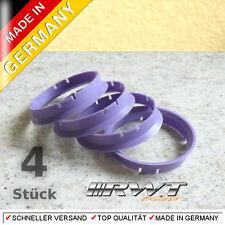 4 Zentrierringe 70,0 x 66,6 z.B. für Rial Alutec Anzio ATS Opel etc.  (#29)