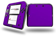 Solids Collection Purple Skin fits Nintendo 2DS
