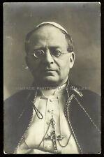 Antique Real Photo Postcard RPPC Pope Pius XI Catholic Church Religion