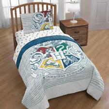 Harry Potter Hogwarts Crest Bed in a Bag Bedding Set w/ Reversible Comforter
