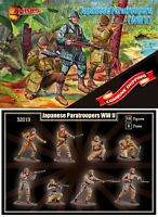 Mars Figures 32019 Japanese Paratroopers (WWII) (15 figures / 8 poses) 1/32
