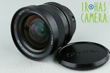 Contax Carl Zeiss Distagon T* 18mm F/4 AEG Lens for Contax CY Mount #11548A2