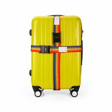 Travel Baggage Tie Down Lock Luggage Straps Combination Suitcase Belt