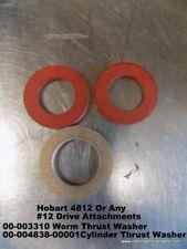 Hobart #12 Grinder Cylinder Thrust Washer 00-003310, Worm Washer 00-004838-00001