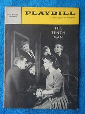 The Tenth Man - Booth Theatre Playbill - July 18th, 1960 - Donald Harron