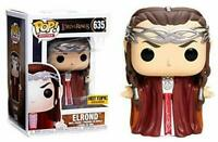 RARE ELROND Lord of the Rings LOTR HT Funko POP VINYL New in Box + Protector