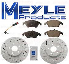 Meyle  Front Brake KIT Mercedes-Benz  Ceramic Pads+Coated Rotors+Sensor NEW