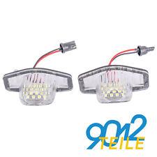 für Honda CR-V CRV HR-V Jazz Logo LED Kennzeichenbeleuchtung Kennzeichenleuchte