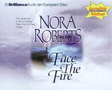 Three Sisters Island Trilogy: Face the Fire 3 by Nora Roberts (2004, CD,...