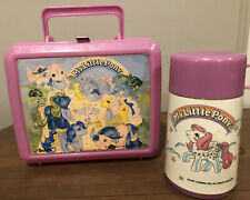 Vintage 1987 My Little Pony Lunchbox With Thermos Aladdin