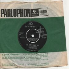THE BEATLES we can work it out*day tripper 1965 UK PARLOPHONE 2nd PRESS 45