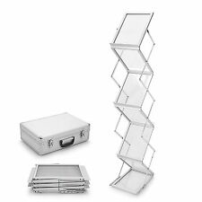A4 Portable Brochure Holder /  Literature Display Stand / Catalogue Rack