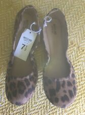 New Mossimo Supply Co. Leonard Ona Round Toe Scrunch Ballet Flats Shoes Size 7.5