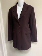 Claude Montana Paris Vintage 100%Wool Jacket Coat~40/  US6