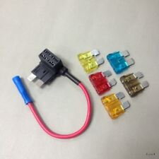 """ATC FUSE TAP ADAPTERS .250/"""" MALE QUICK DISCONNECT//PIGTAIL #FT1-100PK 100 PACK"""