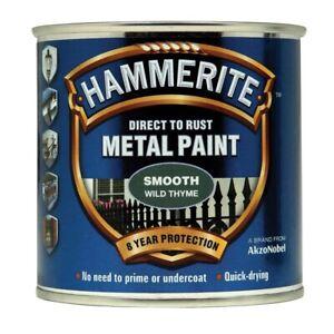 Hammerite Smooth Wild Thyme Metal Paint 250ml