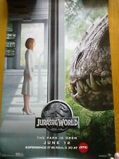JURASSIC WORLD 2015 11x17 PROMOTIONAL ORIGINAL MOVIE POSTER NEW
