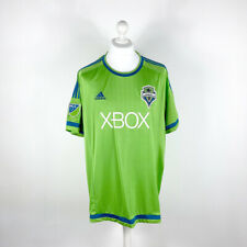 SEATTLE SOUNDERS FC · MLS FOOTBALL SHIRT/JERSEY · 2015 [HOME] · ADIDAS · 2XL