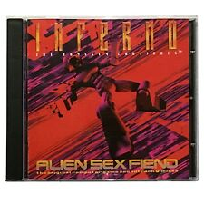 Alien Sex Fiend - Inferno - The Odyssey Continues - 1995 CD  Cleopatra CLEO 9529