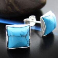 Türkis Silber 925 Ohrringe Damen Schmuck Sterlingsilber S101