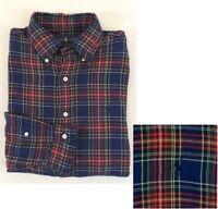 $145 Polo Ralph Lauren Pony Plaid Tartan Classic Fit Flannel Holiday Shirt M XL