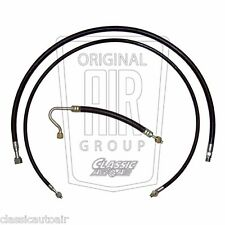 1969-1970 Mustang Cougar A/C Hose Set (3pc) V8 Air Conditioning Ac (Nylon)